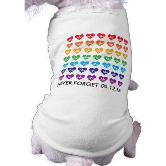 Una Orlando un mascota del arco iris de los Camiseta Sin Mangas Para Perro