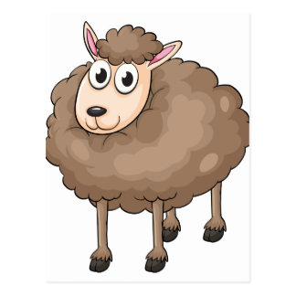Una oveja postal