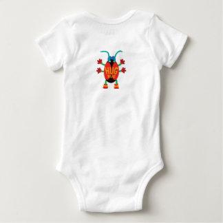 Una pieza del insecto del abrazo body para bebé