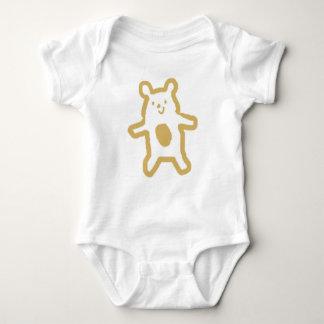 Una pieza neutral recién nacida del bebé de Cub. Body Para Bebé
