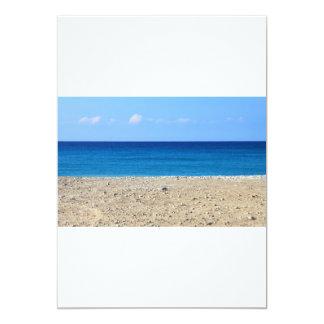 Una playa perfecta invitación 12,7 x 17,8 cm