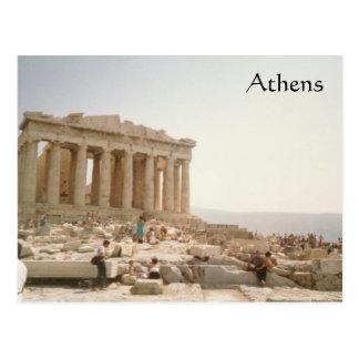 Una postal de Atenas Grecia