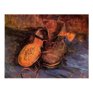 """Una postal del par de zapatos de Van Gogh """""""