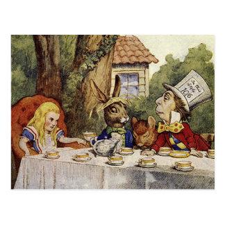 Una postal enojada de la fiesta del té