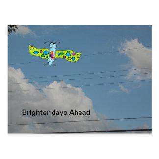 Una postal más brillante de los días a