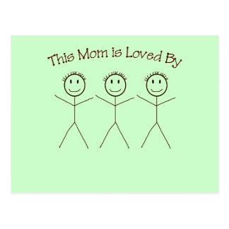 Una postal para la mamá
