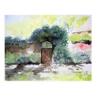 Una puerta - estado de la casa de Englis, Ann Postal