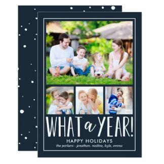 Una qué tarjeta EDITABLE de la foto del día de Invitación 12,7 X 17,8 Cm