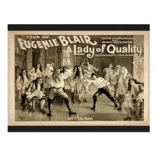 Una señora de la calidad, 'Act1: El vintage Theate Postal