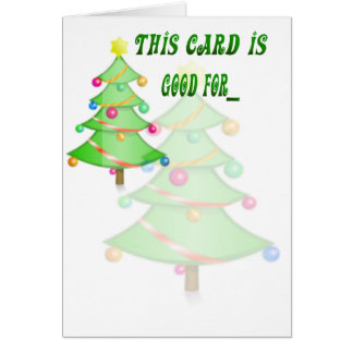 Una sentada de Card_baby de la promesa del navidad Tarjeton