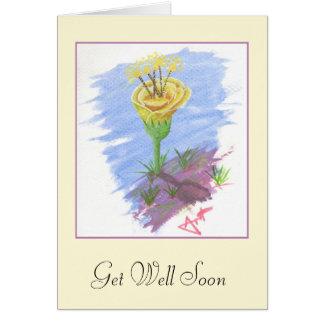 Una tarjeta bien del conseguir pronto