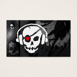 Una tarjeta de visita fresca del icono de los