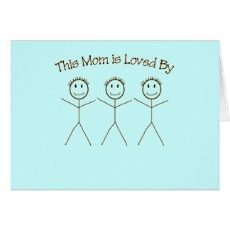 Una tarjeta para la mamá