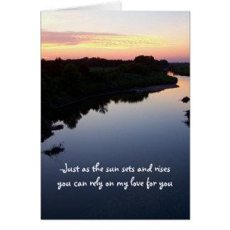 una tarjeta para mi amor