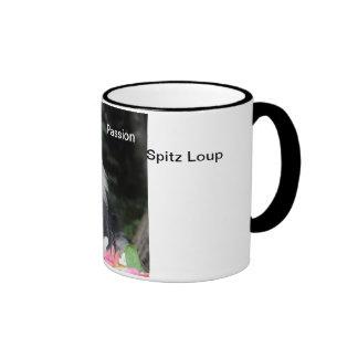 Una taza a los colores Pasión Spitz Lobo