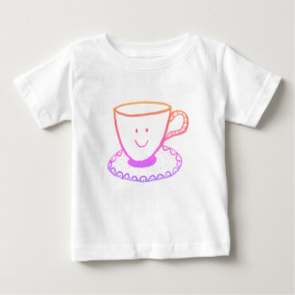 Una taza agradable de té camiseta de bebé