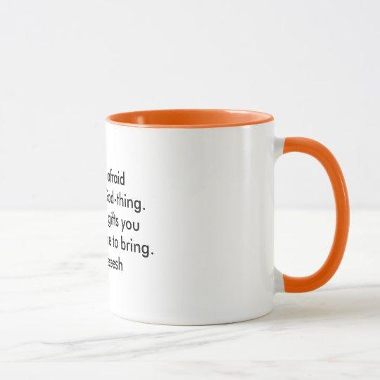 Una taza de sabiduría: Entregue sus regalos -