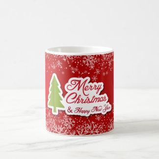 Una taza diseñada de la obra clásica del navidad