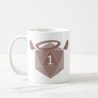 Una taza natural invertida D20