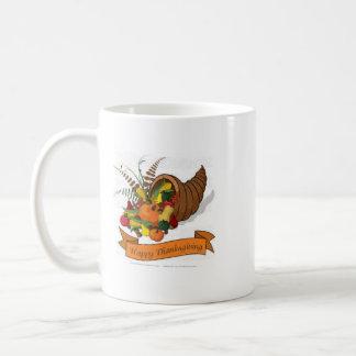 Una taza única del coffe con un tema de la acción