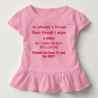 Una verdad de las niñas camiseta de bebé