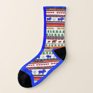 Una vez en un alce azul y los amigos - calcetines