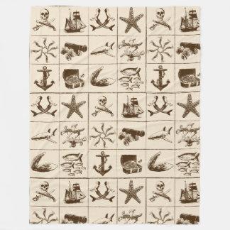 Una vida Blanket_1 de los piratas Manta Polar