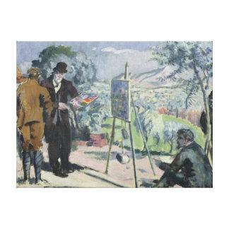Una visita a la casa de Cezanne Impresiones En Lona