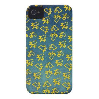 Unacorni y queso funda para iPhone 4 de Case-Mate