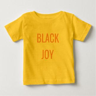 Unapologetically negro: Alegría negra de Lil Camiseta De Bebé