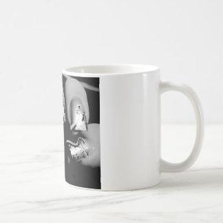 Uñas del diseñador taza básica blanca