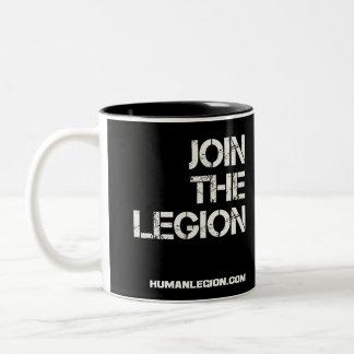 Únase a la taza de la legión (el saltador)