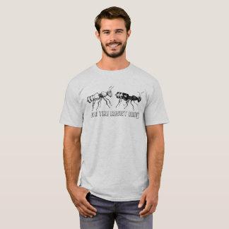 ¡Únase a las hormigas de la resistencia! Camiseta