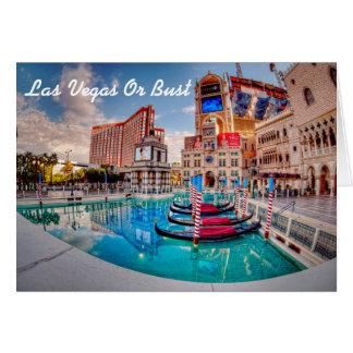 Únase a me en la invitación de Las Vegas