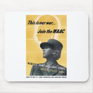 Únase al WAAC -- WW2 Alfombrilla De Ratón
