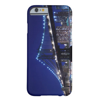Und de Manhattanbrücke - nachts del horizonte Funda De iPhone 6 Barely There