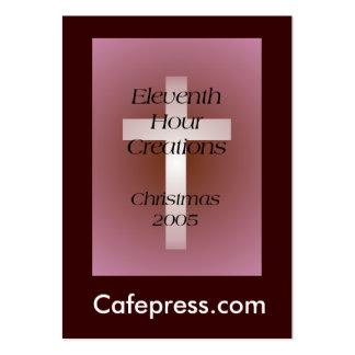 Undécimo creaciones de la hora plantilla de tarjeta personal