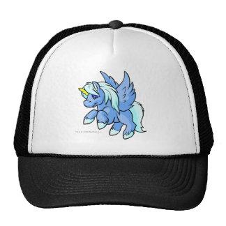 Uni azul gorras
