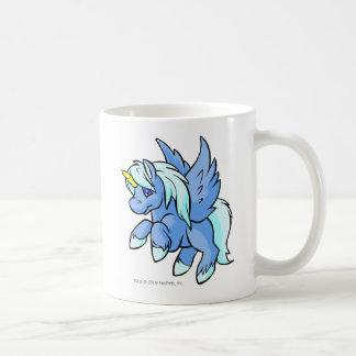 Uni azul tazas