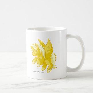 Uni oro taza básica blanca