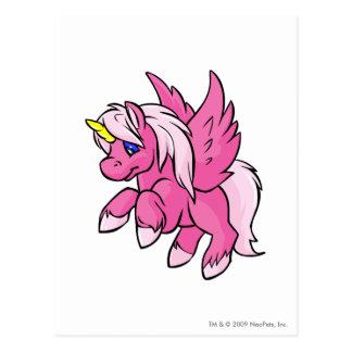 Uni rosa postal