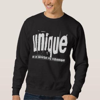 Único en un mundo del cambio suéter