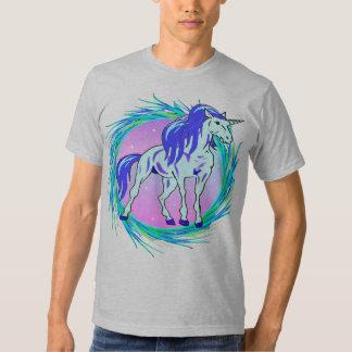Unicornio azul camiseta