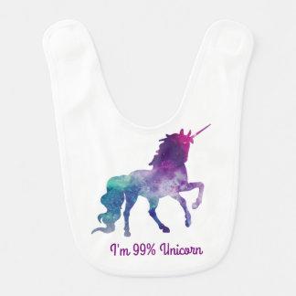 Unicornio - babero del bebé