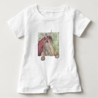 Unicornio Body Para Bebé