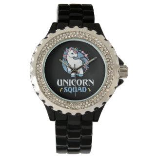 Unicornio comando reloj