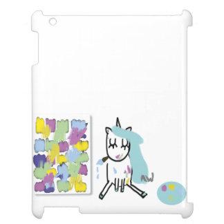 unicornio de artista - iPad funda
