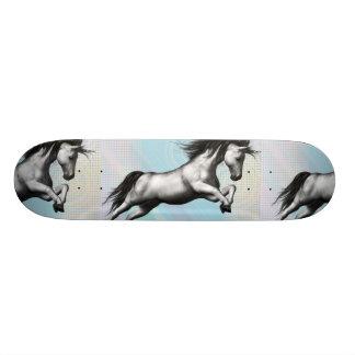 Unicornio de plata patines personalizados