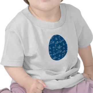 Unicornio del azul de Toile Camiseta
