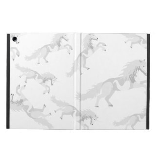 Unicornio del blanco del ejemplo funda para iPad air